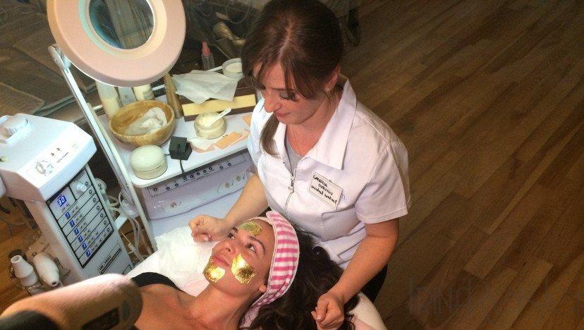 Tratament facial cu aur